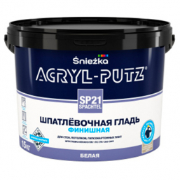 Шпаклевка Sniezka Acryl Putz SP21 Finish 15 кг