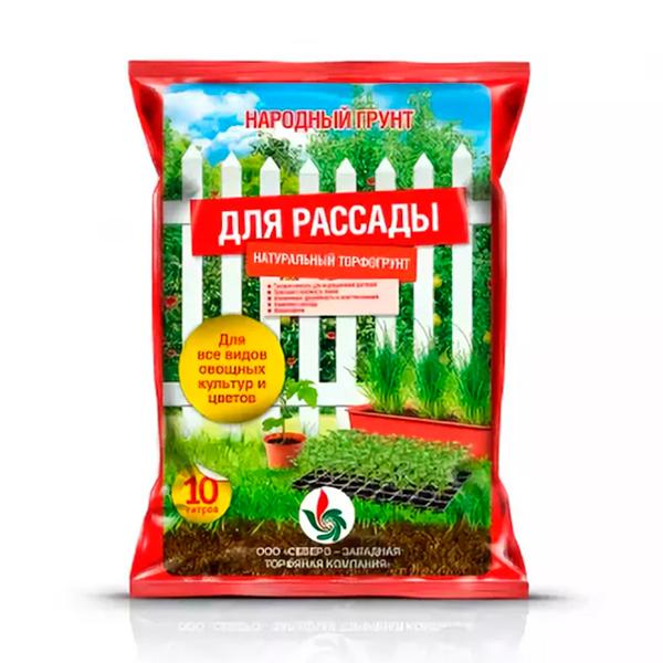 Грунт Народный грунт Для рассады 10 л купить в Минске. Хороший, открытый, эпоксидный грунт для рассады, для семян. Сорта грунта: отзывы, фото, описание.