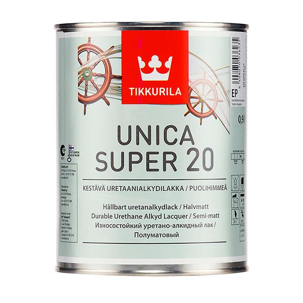 Лак Tikkurila Unica Super 20 полуматовый 0,9 л (цвет: прозрачный) купить в Минске. Лак для дерева акриловый, цветной, для наружных работ. Лаки для дерева водные, аэрозоль, водоотталкивающие, венге, спрей, термостойкие, прозрачные, орех, в баллончике, без запаха, дуб, для внутренних работ, на водной основе, полиэфирные, декоративные, для мебели, для покрытия дерева, износостойкие, матовые, глянцевые, уретановые: цены, размеры, виды, фото, цены, характеристики, отзывы.