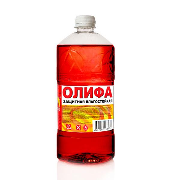 Олифа Вершина влагостойкая 1 л (цвет: красно-коричневый) купить в Минске - характеристики, цена, фото