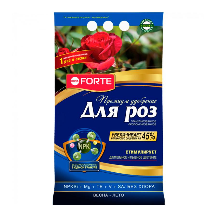 Удобрение гранулированное пролонгированное для роз Bona Forte ПРЕМИУМ с биодоступным кремнием 2,5 кг купить в Минске. Удобрения минеральные, калийные, азотные, фосфорные. Удобрения для садовых растений: цены, фото, характеристики.